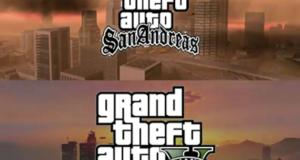 GTA SA и GTA V