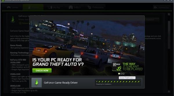 Nvidia, возможно, готовится к обновлению драйверов в преддверии выхода GTA 5