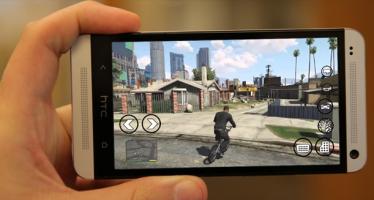 Хотите поиграть в GTA V на Android смартфоне? Да пожалуйста!