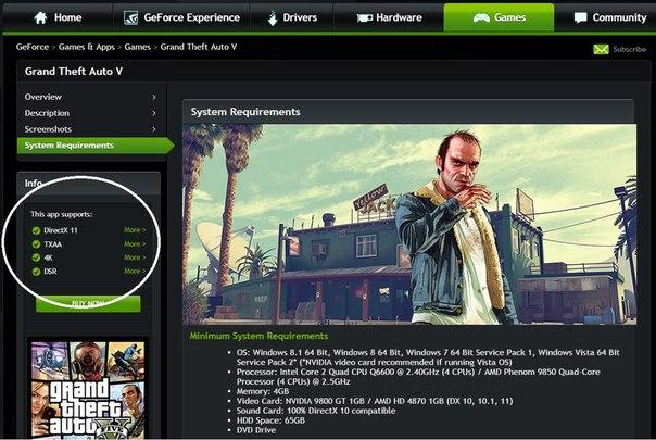 PC версия GTA V будет поддерживать технологию временного сглаживания TXAA от NVIDIA
