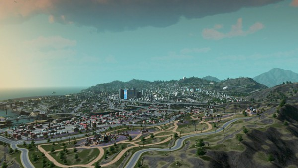 Игрок воссоздал Лос-Сантос в градостроительном симуляторе Cities
