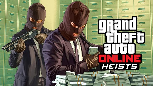 """GTA Online """"Ограбления"""" официально доступна для загрузки"""