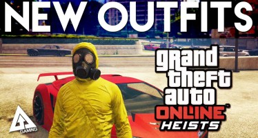 Все новые костюмы, добавленные в Heists для GTA Online, в одном видео