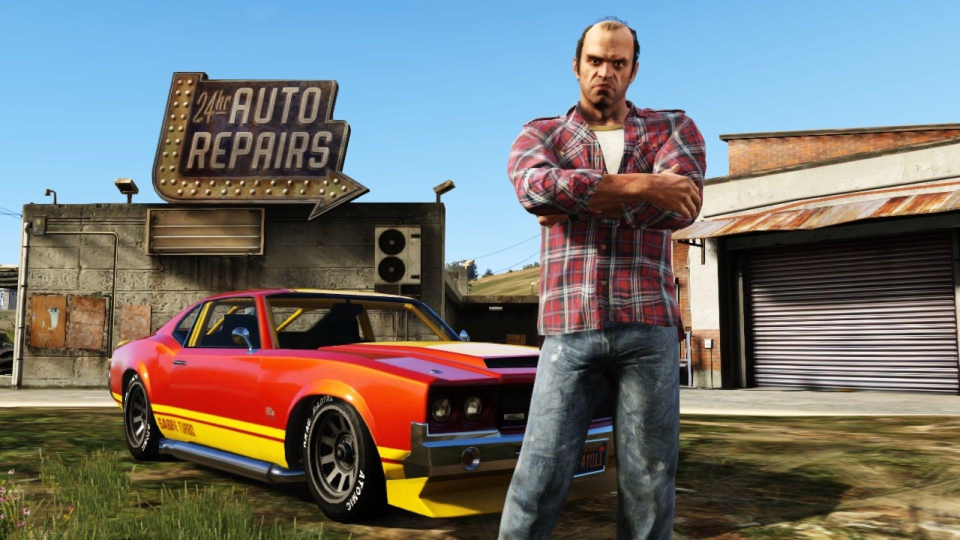 Одиночный режим GTA 5