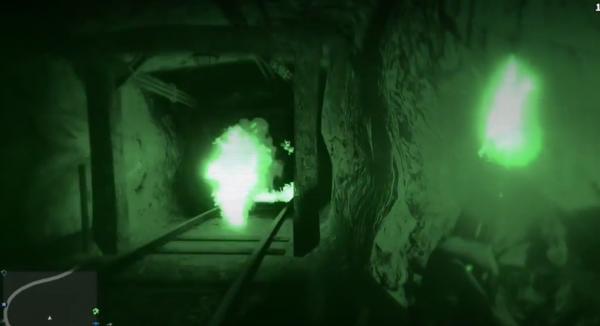 Пылающий призрак в GTA 5
