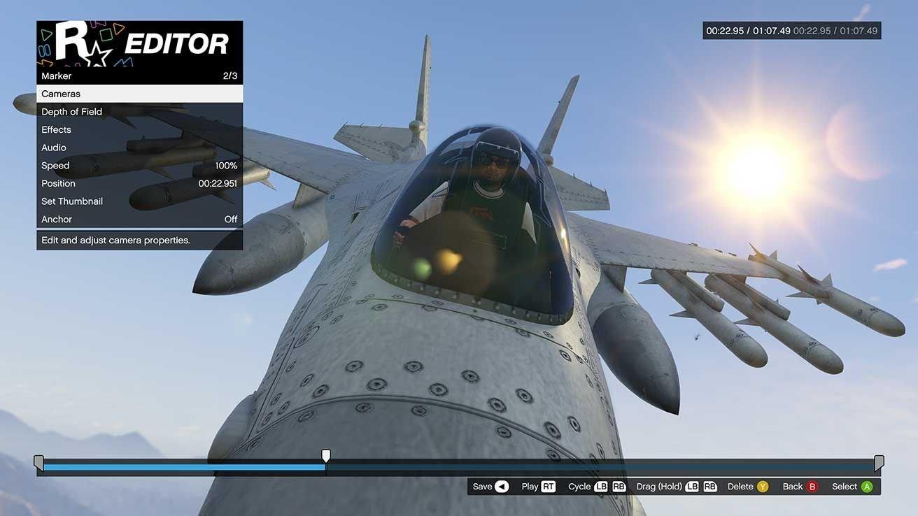 Удаляем видео из Rockstar Editor