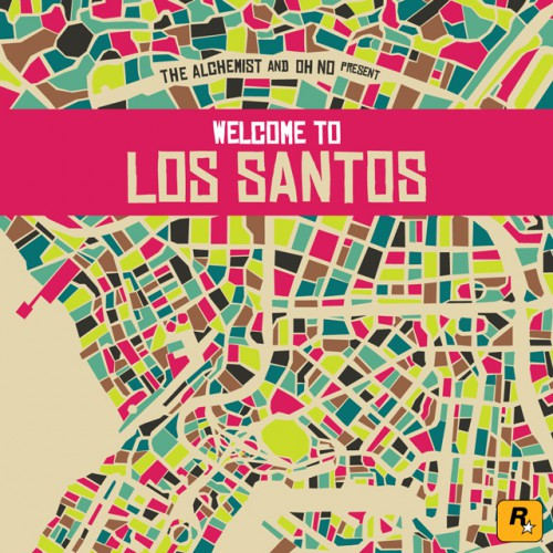 The Alchemist and Oh No Present: Welcome to Los Santos доступен в iTunes и на компакт-дисках