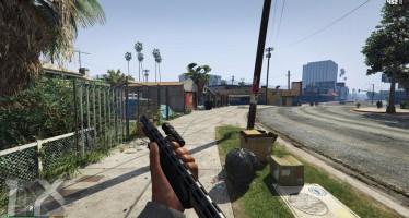 Первый мод для GTA 5 на PC, расширений обзор от первого лица