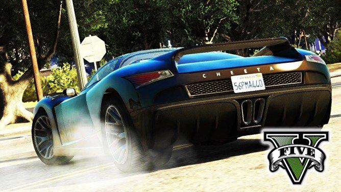 Прицеливание из транспорта в GTA 5