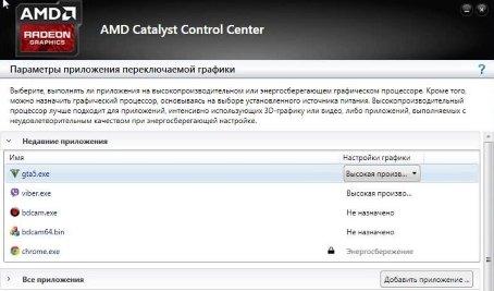 Проблемы графики Intel+AMD в GTA 5