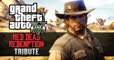 Видео GTA 5, посвященное 5-летию Red Dead Redemption