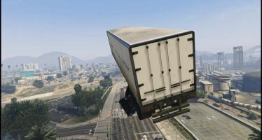 Трюк с грузовиком в GTA 5