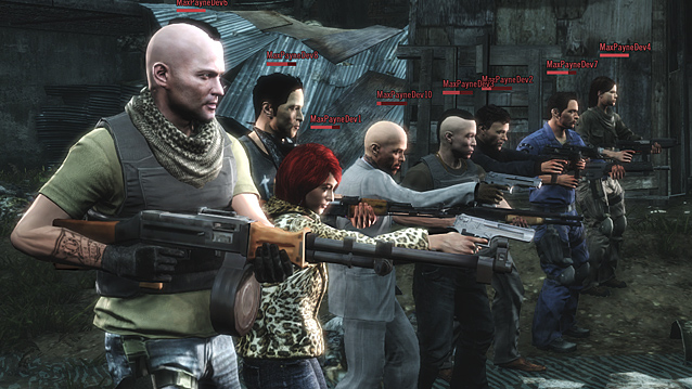 Мультиплеер в Max Payne 3