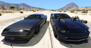 Мод GTA 5 добавляет в игру говорящую и скачущую машину из Рыцаря дорог