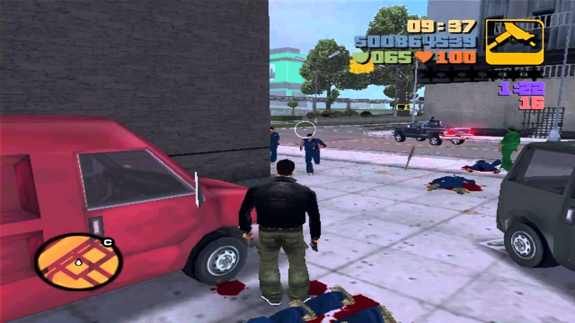 Миссии ярости в GTA 3