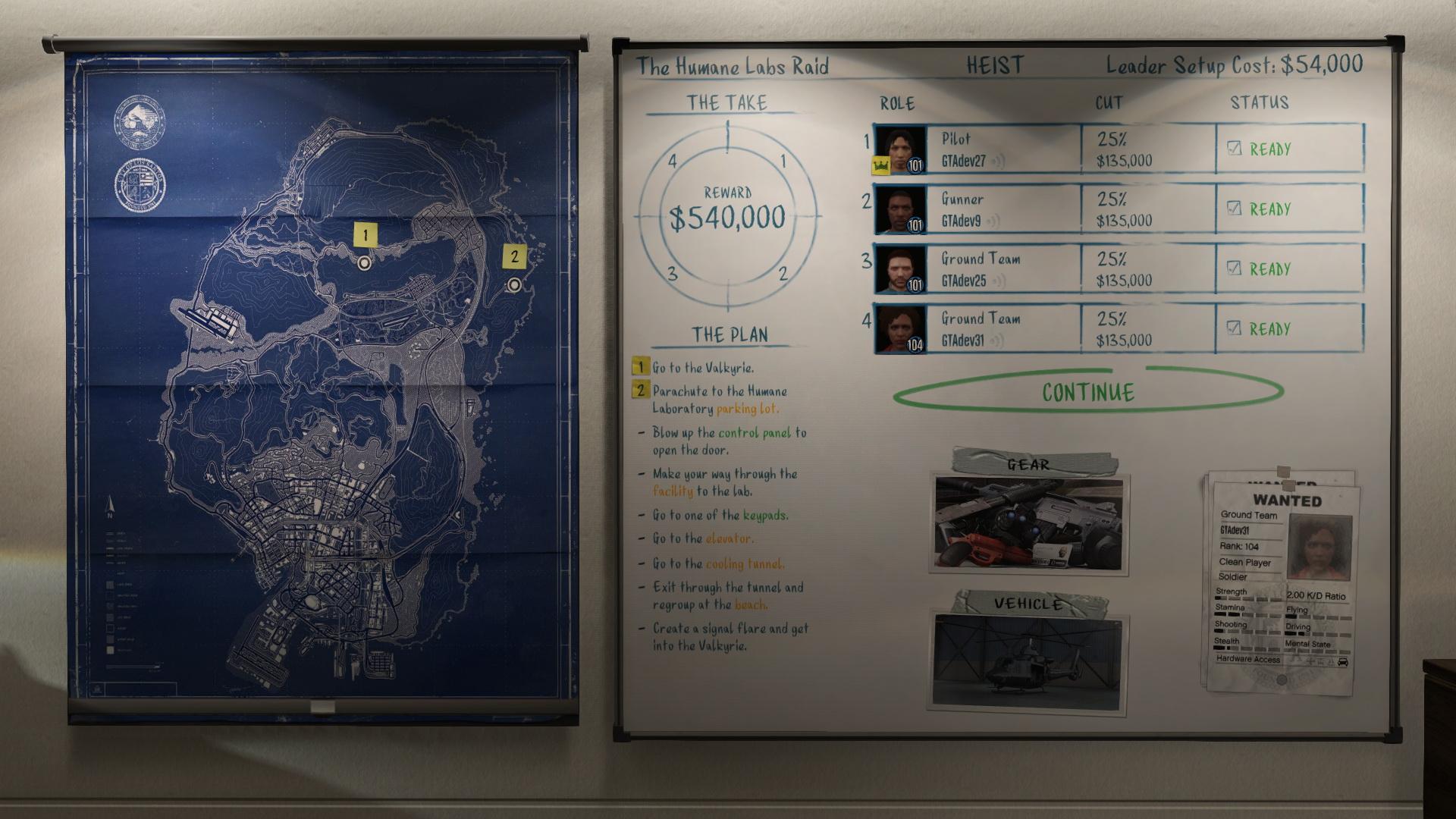 Pacific Standard в GTA Online