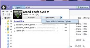 Программа OpenIV