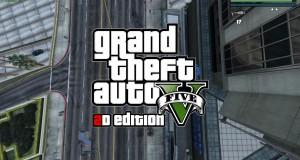 GTA 5 с видом сверху