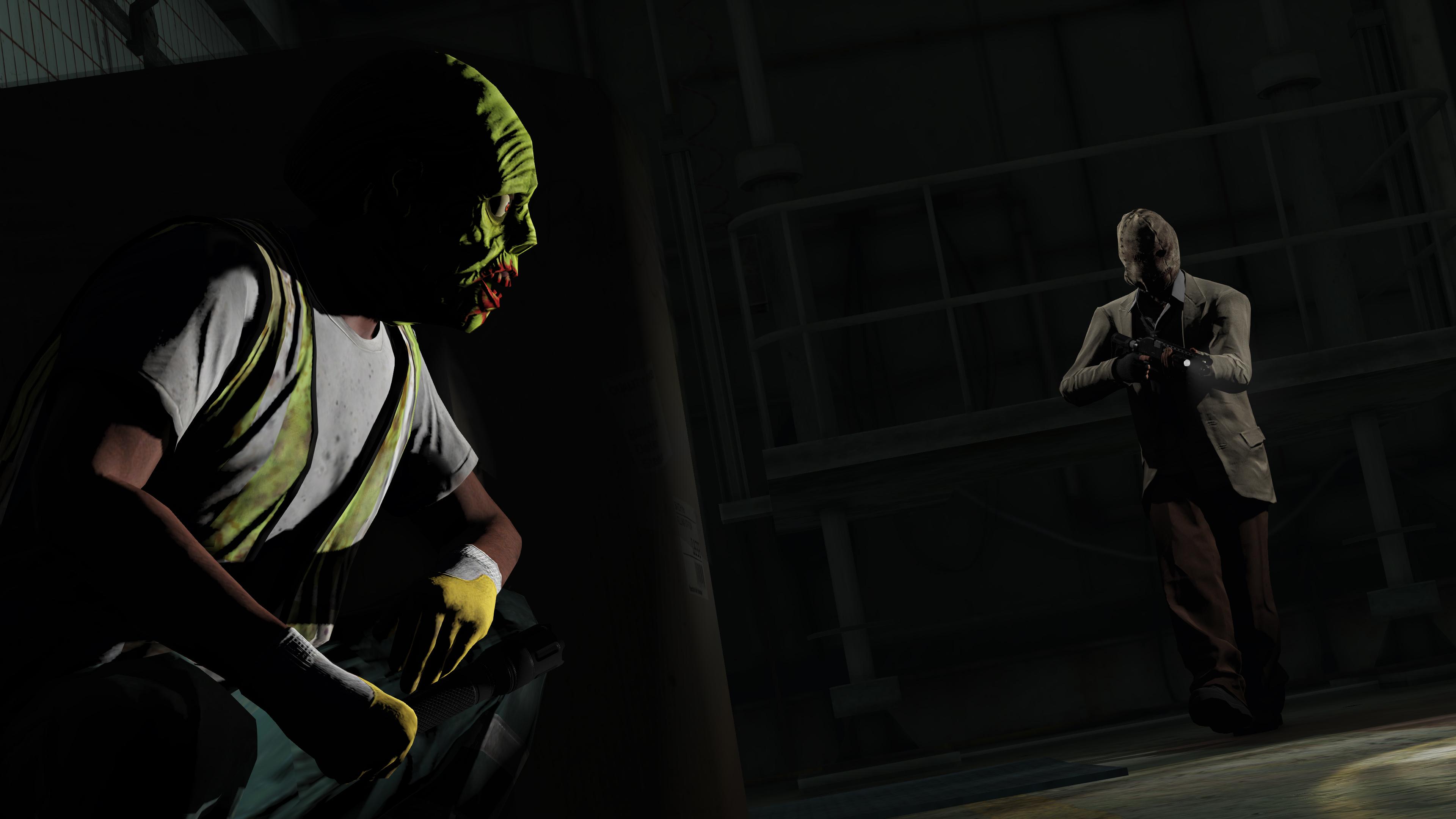 Пропали маски и фонарь в GTA Online