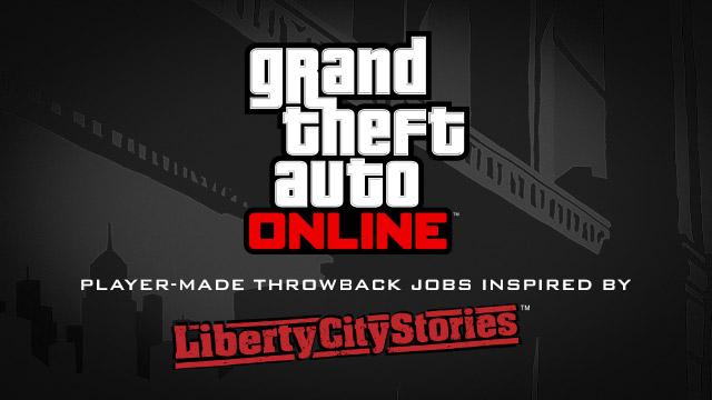 Ностальгические пользовательские дела по мотивам Liberty City Stories для GTA Online