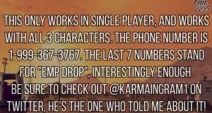 Странный номер телефона для GTA 5 активирующий взрыв в небе