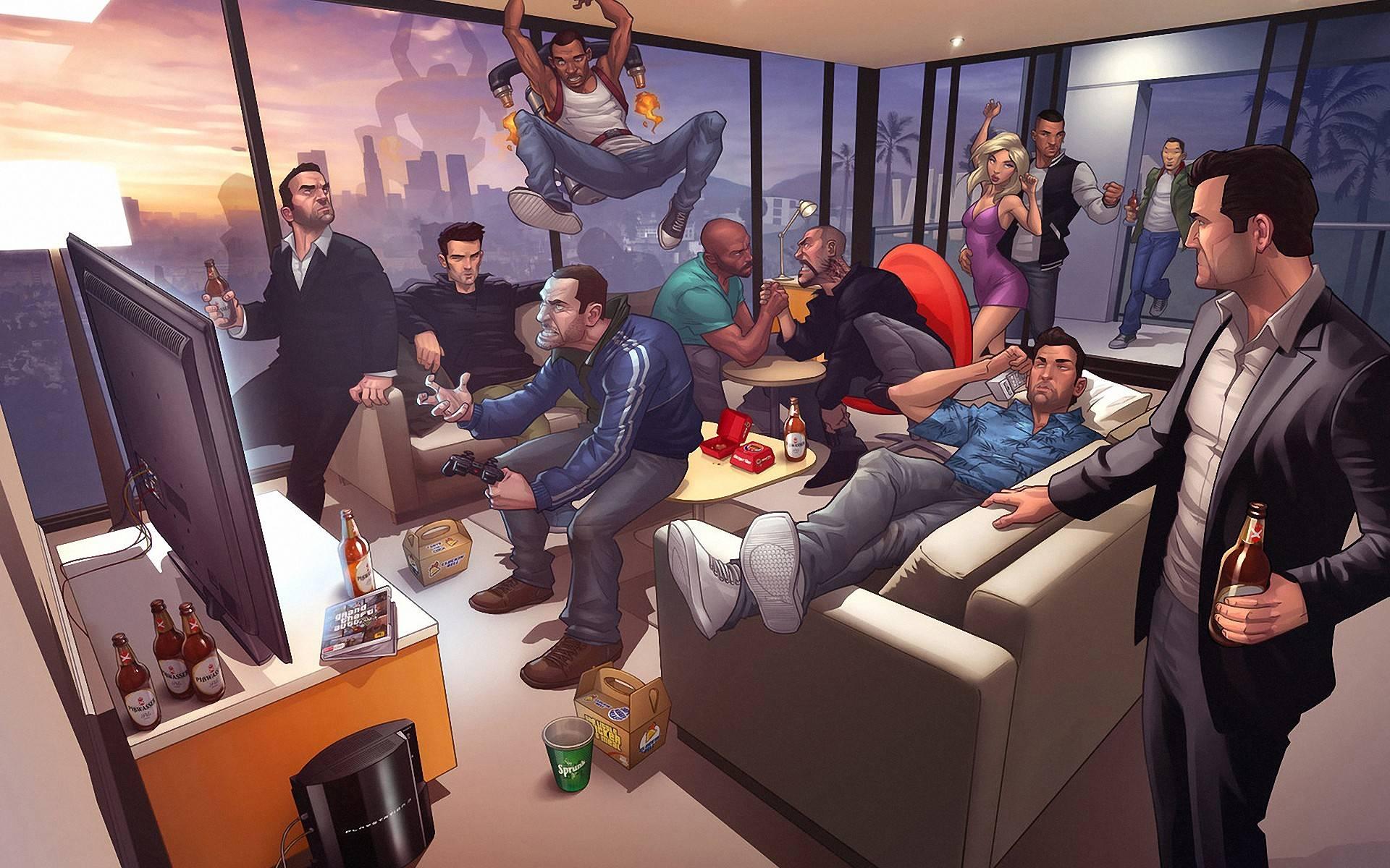 Подтверждение сетевой политики GTA Online
