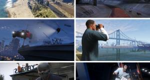 Новые скриншоты GTA V: мотоциклы, ограбления, гонки и многое другое