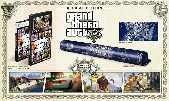 Специальное издание Grand Theft Auto V