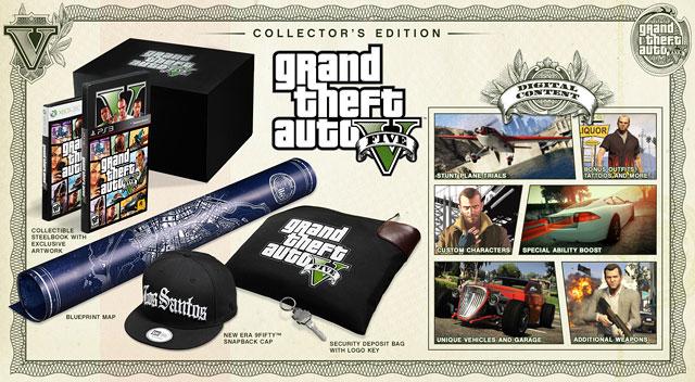 Коллекционное издание Grand Theft Auto V