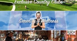Обновление официального сайта GTA V: разделы «Эксклюзивные загородные клубы», «Местные мастера», «Спокойствие и благополучие»