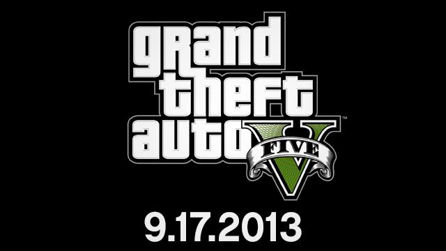 Grand Theft Auto V выходит 17.09.2013