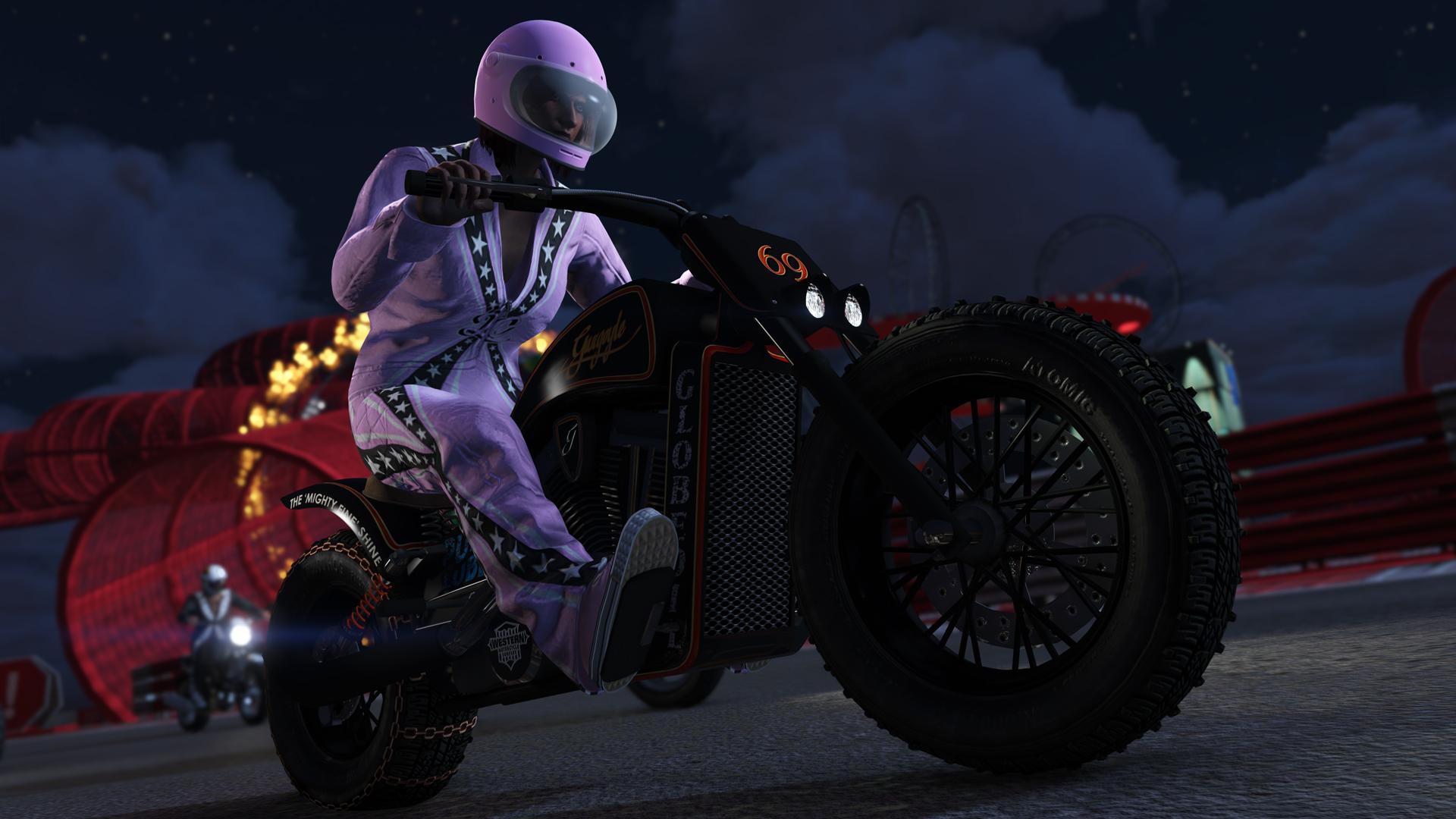 каскадерские гонки в GTA Online