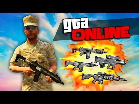 Торговля оружием в GTA Online