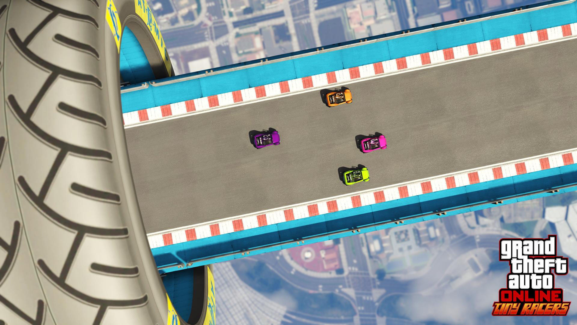 новый режим Микрогонщики в GTA Online