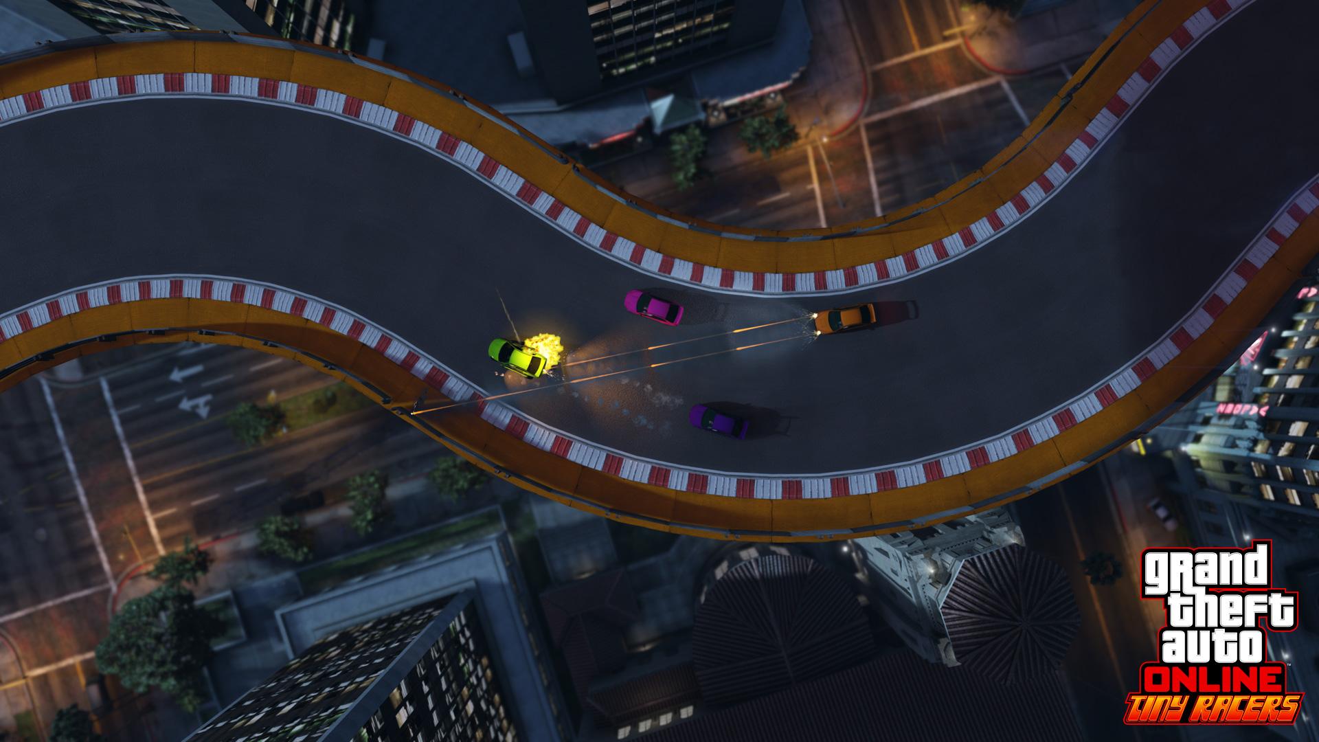 Новый режим гонок в GTA Online