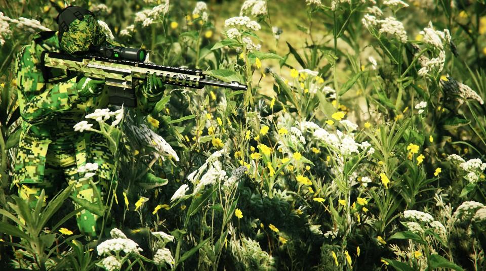 """Camouflage 2"" за авторством Vinewoodonfire"