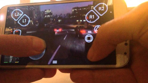 GTA V на смартфоне