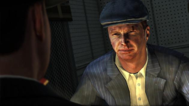 Реалистичная мимика в L.A. Noire