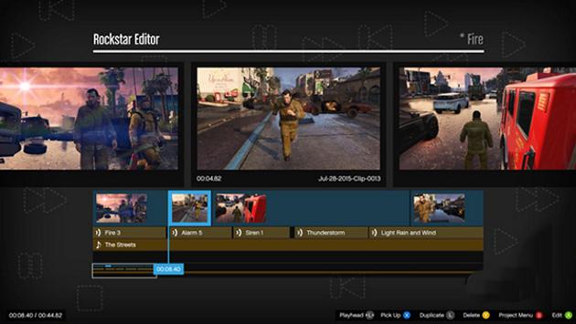 Как удалить видео в редакторе Rockstar