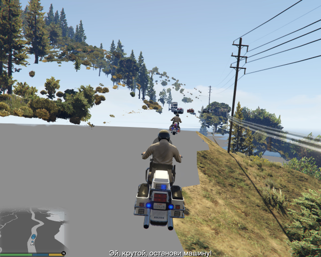 Дыры в карте в GTA Online