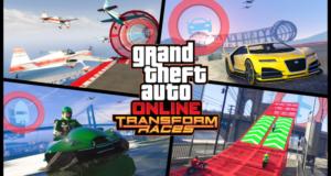 GTA Online гонки трансформации