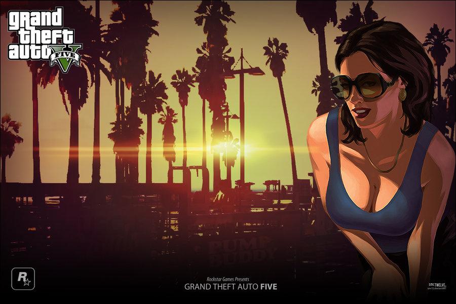 Смена аватара в GTA Online