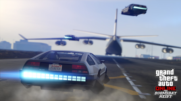Новое обновление для GTA V