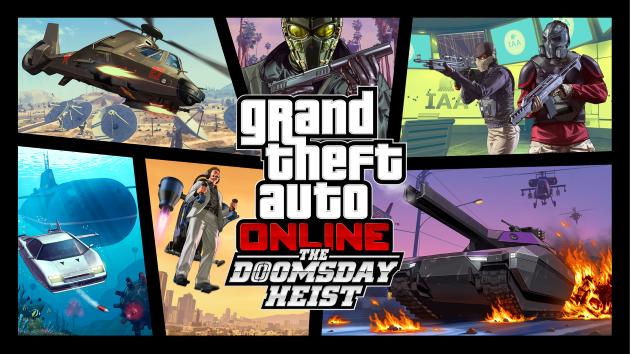 Обновление The Doomsday Heist для GTA 5