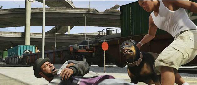 Животные в GTA 5