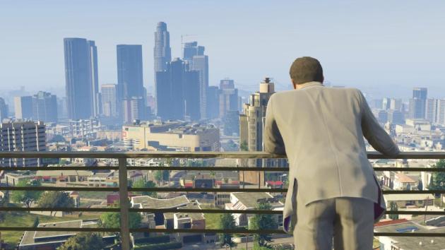 Огромный город в GTA 5