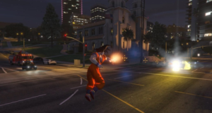 Dragon Ball в GTA V