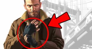 Перчатки без пальцев в GTA 4