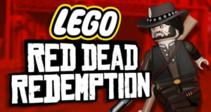 Red Dead Redemption в виде LEGO