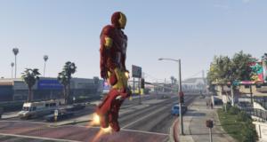 Железный человек в GTA V